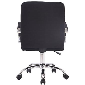 Chaise de bureau - Chaise de bureau - Bureau à domicile - Moderne - Noir - Métal