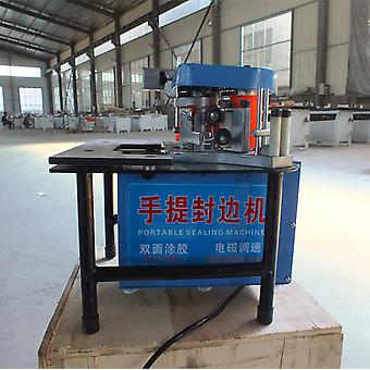 Portable Double Sided Gluing Edge Bander Sealing Machine Woodworking