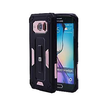 32nd Hard Defender case for Samsung Galaxy S6 Edge (SM-G925) - Rose Gold