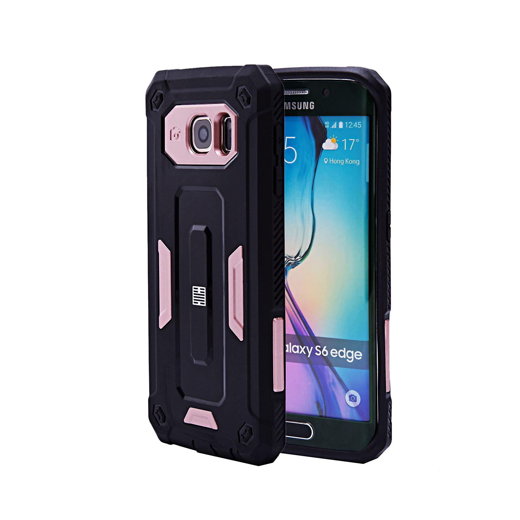 32nd Hard Defender case for Samsung Galaxy S6 Edge (SM-G925) - Rose Gold