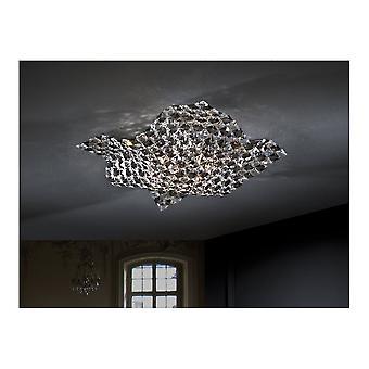 شولر ساتين مصباح سقف صغير ل 4