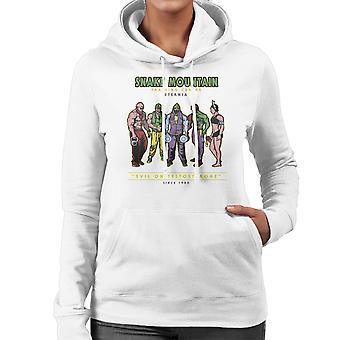 Snake Mountain Training Centre Eternia Skeletor Women's Hooded Sweatshirt