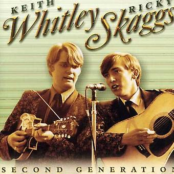 Skaggs/Whitley - Second Generation Bluegrass [CD] USA import