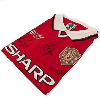 Manchester United 1999 Champions League Final Signed Shirt