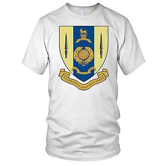 Royal Marines 30 Commando Ix Gp Rm Badge Mens T Shirt