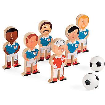 Janod Champion Soccer Skittles Game