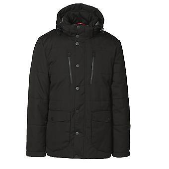 ID Mens Padded Smart Winter Parka Jacket