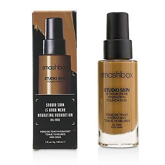 Smashbox Studio Skin 15 Hour Wear Hydrating Foundation - 4.05 (oscuro con tono cálido de peachy) - 30ml/1oz