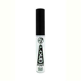 W7 Loud Pout OTT Lip Topper Gloss I'm A Gleamer 0.24oz / 7ml