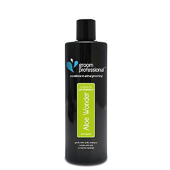 Groom Professional Aloe Wonder Gentle Dog Shampoo - Helps Irritated Skin