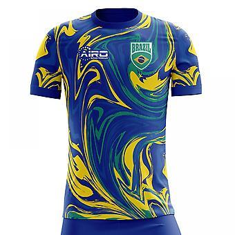 2020-2021 Brasil Away Concept Fotball skjorte (Barn)