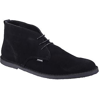 Lambretta Mens Selecter koning Casual Suede Lace Up Desert Boots