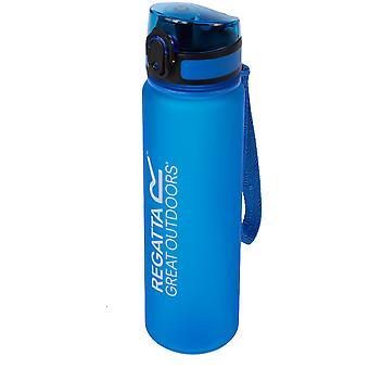 Regatta 0.6 Litre Tritan Robust Plastic Flip Lid Drinks Bottle
