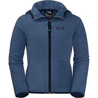 Jack Wolfskin jongens Kirkwood warme lichtgewicht Hooded Fleece jas