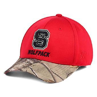 NC State Wolfpack NCAA SLÄPTÅG regionen Camo Stretch utrustade hatt