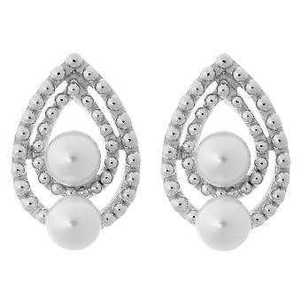 Orphelia sølv 925 ørering perle ZO-6033