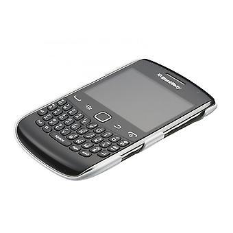 بلاك الهاتف الخليوي قذيفة من الصعب غطاء أبيض حالة 9350/9360/9370 بلاك-