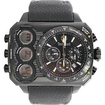 Timberland mens watch wristwatch leather analog digital TBL. 13673JSB/02