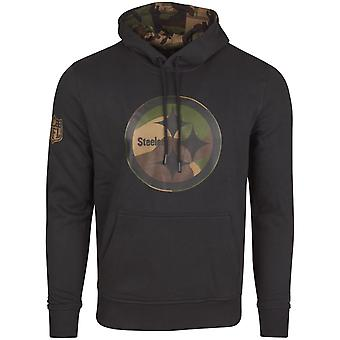 New era Fleece Hoody - NFL Pittsburgh Steelers Black camo