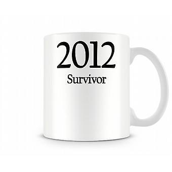 2012 survivor bedrukte mok