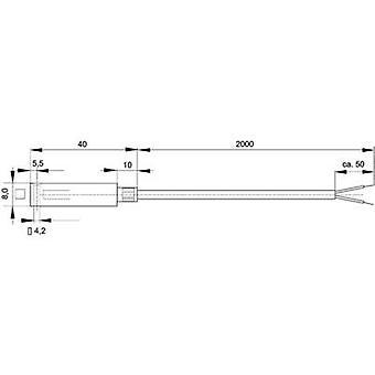 Enda Temperature sensor Sensor type J Temperature reading range-50 up to 400 °C Cable length 2 m