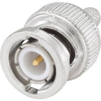 Rosenberger 51S107-108N5 BNC connector Plug, straight 50 Ω 1 pc(s)