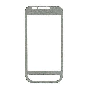 OEM Verizon Samsung Fascinate SCH-I500 Glitter Screen Protector (Silver) (Bulk Packaging)