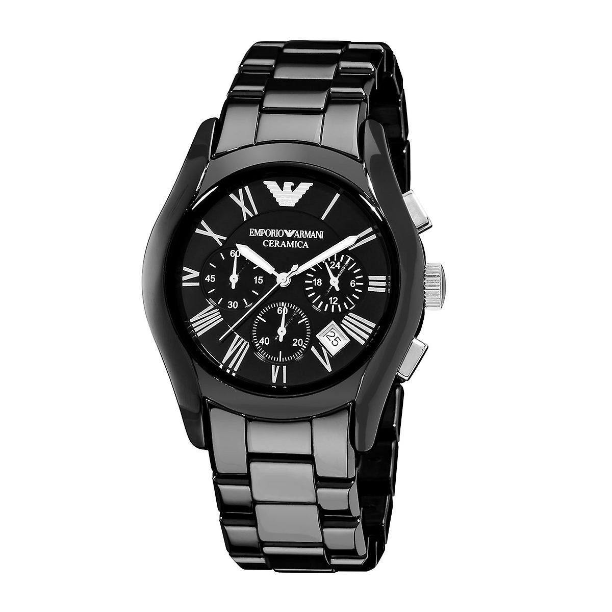 Emporio Armani Ceramic AR1400 Men's Chronograph Watch