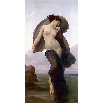 Ambiance du soir, Adolphe William Bouguereau, 80x40cm