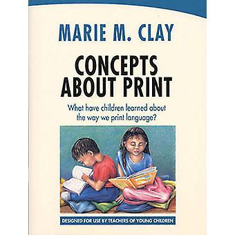 印刷 - 子供がいるものに関する概念方法について学んだ私たち Pri