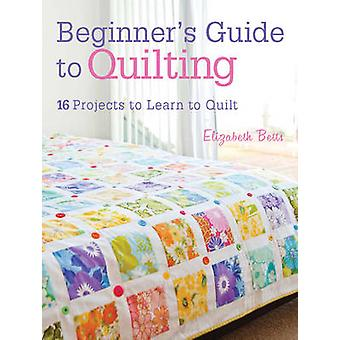 Beginner's Guide to Quilting - 16 Projects to Learn to Quilt by Elizab