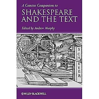 Um companheiro conciso de Shakespeare e o texto