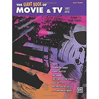 The Giant Book of Movie & TV Sheet Music: Easy Piano (Giant Book of Sheet Music)
