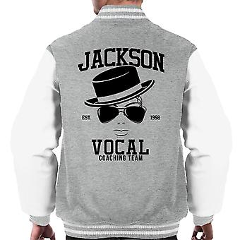 Michael Jackson Vocal Coaching Team Varsity Jacke Herren