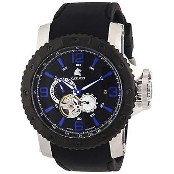 Carucci Watches CA2198BK - Wristwatch, man, caucciu, color: black
