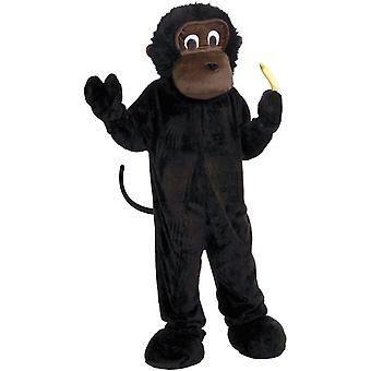 Gorilla maskot Adult kostyme