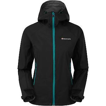 Montane Women's Atomic Jacket - Black/Zanskar Blue