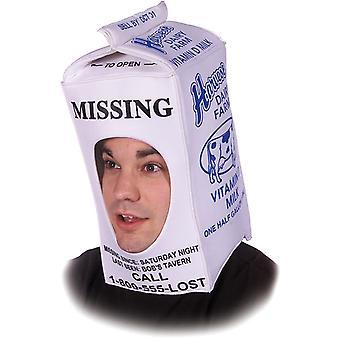 Chapéu de caixa de leite para todos