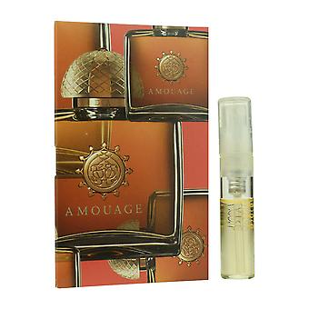 Amouage ' Dia ' Eau De Parfum Spray For Woman 0.05oz Carded Vial (OriginalFormula)