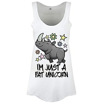 Grindstore Ladies/Womens I`m Just A Fat Unicorn Floaty Tank