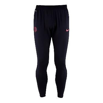 2019-2020 PSG Nike Strike Vaporknit Trainingspanzmittel (Oil Grey)