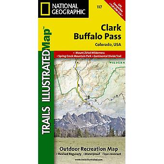 Clark/Buffalo Pass - Trails Illustrated by National Geographic Maps -