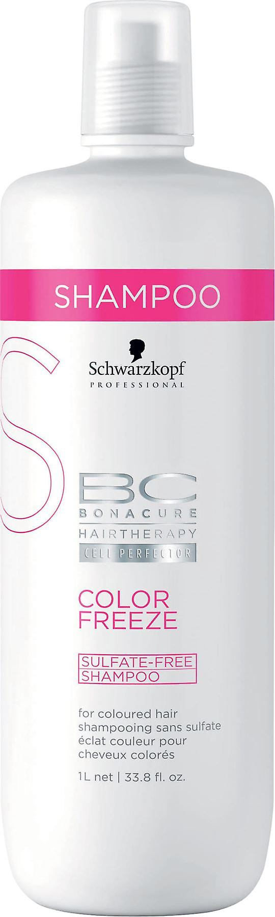 Schwarzkopf BC Color Freeze Sulfate Free Shampoo 1000ml