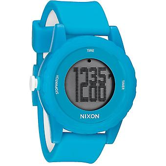 Nixon The Genie Digital Silicone Mens Watch A326917