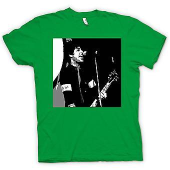 Mens-T-shirt-Green Day - Billy Joel - BW