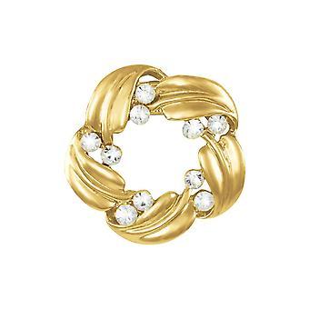 Eeuwige collectie veelzijdigheid gouden sjaal Clip