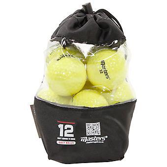 12 Masters Titan Golf Bälle