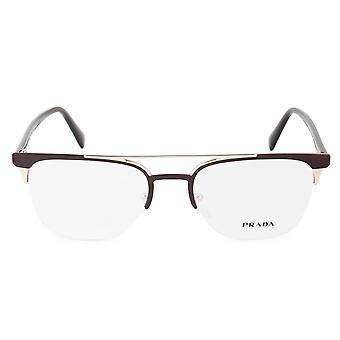 Prada Conceptual PR 63UV LFD1O1 52 Geometric Eyeglasses Frames
