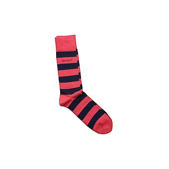 Gant Barstripe Socks Watermelon Red