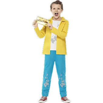Barn Roald Dahl Charlie Bucket Chocolate Factory Fancy Dress drakt
